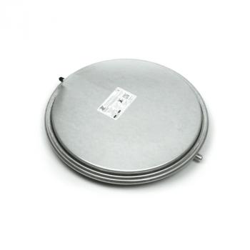 Расширительный бак для отопления Aquasystem VCP-387 8 л плоский круглый