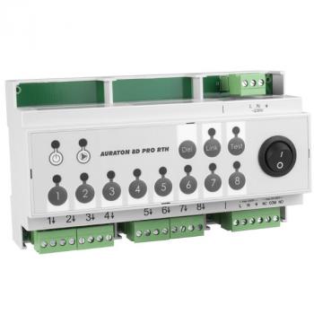 Беспроводной контроллер для отопления AURATON 8D PRO RTH 8 зон нагрева