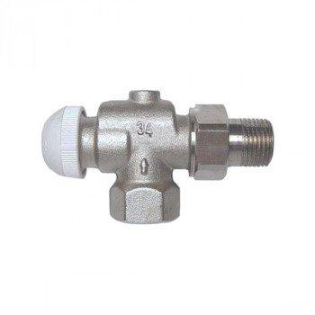 Клапан радиаторный термостатический угловой HERZ TS-90 1/2x1/2 1772891