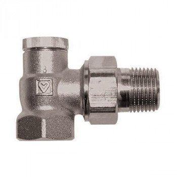 Вентиль запорный радиаторный угловой со скрытым приводом 1/2 Herz RL-1 1372441