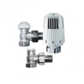 Комплект термостатический угловой для радиатора HERZ СТАНДАРТ TS-90 V772401