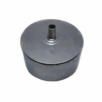 Конденсатосборник из нержавейки одностенный 300 мм толщина стали 0,5 мм AISI304