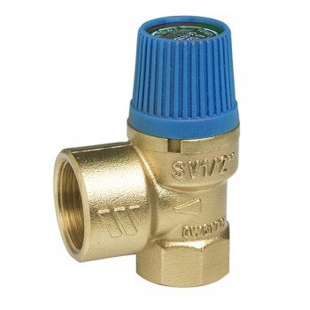 """Предохранительный сбросной мембранный клапан  WATTS SVW  3/4""""х1"""" 6 бар, для водоснабжения"""
