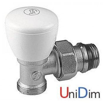Ручной угловой клапан 1/2 x 16 GIACOMINI R25х033