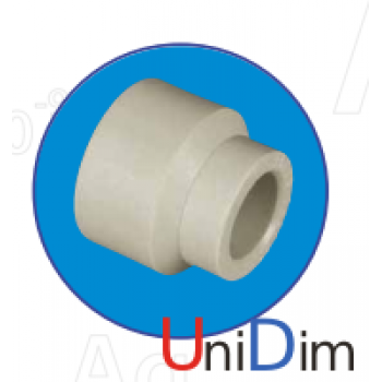 Редукция (переходник) внутренняя/наружная ASG-plast d40X20 мм