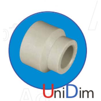 Редукция (переходник) внутренняя/наружная ASG-plast d40X25 мм