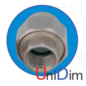 Резьбовое соединение внутреннее (американка) 2 ASG-plast d63 мм