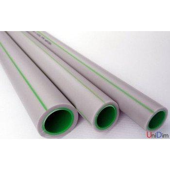 Труба полипропиленовая ASG-Plast ПН 20 Classic 90х15 green pipe