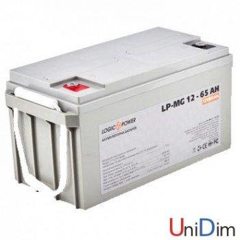 Аккумулятор мультигелевый LogicPower AGM LP-MG 12-65 AH