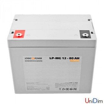 Аккумулятор мультигелевый LogicPower AGM LP-MG 12-80 AH