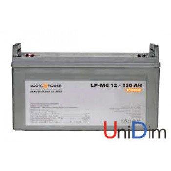 Аккумулятор мультигелевый LogicPower AGM LP-MG 12-120 AH