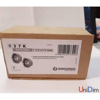 Гайки для циркуляционного насоса 11/2x1 Giacomini R37KY005