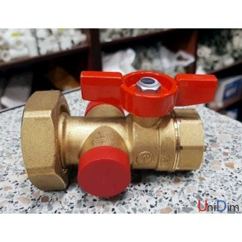 """Шаровой клапан с выводом 1/2"""" для термометра Giacomni R287Y005"""