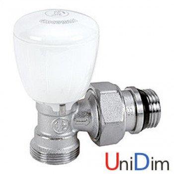 Угловой термостатический клапан с нар. резьбой GIACOMINI 1/2 R431EX037