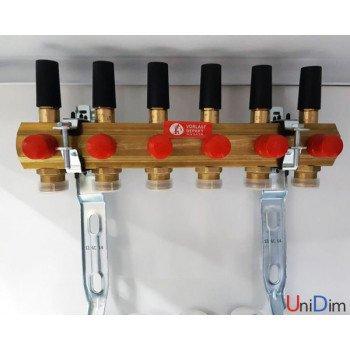 Сборный коллекторный узел с расходомерами GIACOMINI R553FY043