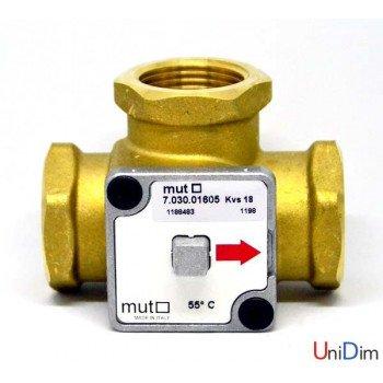 """Трехходовой смесительный клапан MUT TM 3000-G 1"""" 55С"""