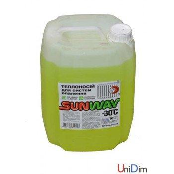 Незамерзающая жидкость Sunway 30℃ 10л