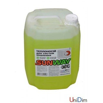 Незамерзающая жидкость Sunway 30℃ 40л
