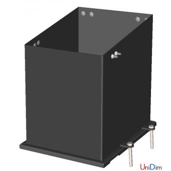 Котел твердотопливный универсальный TATRAMET BIOTEX 50 кВт