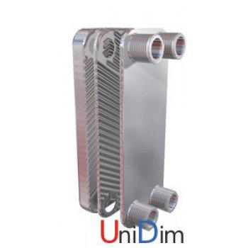 Пластинчатый паянный теплообменник Secespol LB31-20-1 25-50 кВт