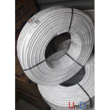 Металлопластиковая труба Kisan PEXB-AL-PE 25x2,5 белая