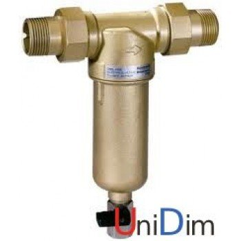 """Фильтр сетчатый промывной Resideo (Honeywell) MiniPlus-FF06 AAM 1"""" для горячей воды"""