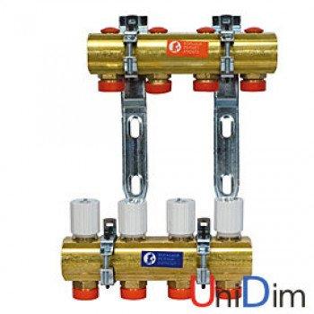 Коллекторный узел для систем отопления с лучевой разводкой Giacomini R553Y011