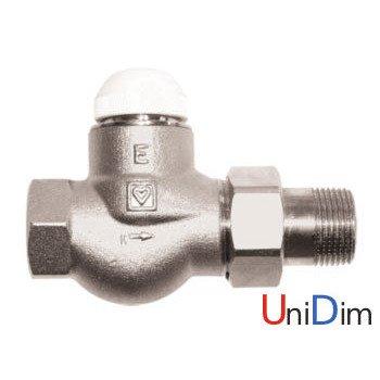 """Herz TS-E клапан термостатический 1"""" проходной"""