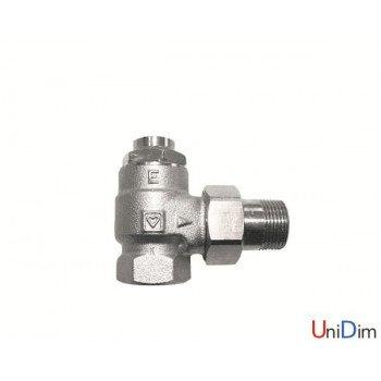 Вентиль запорный радиаторный угловой 1 Herz RL-1-E 1372402