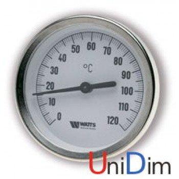 """Термометр WATTS погружной """"1/2"""" Ø 80 мм 0-120°С 42мм"""