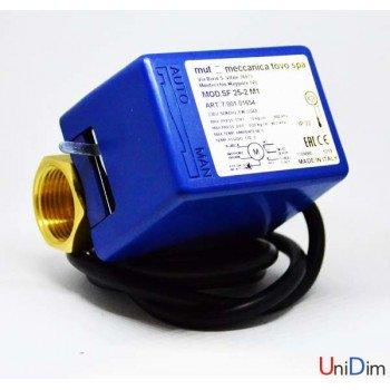 Двухходовой зональный клапан MUT с электромотором SF 25-2 M1