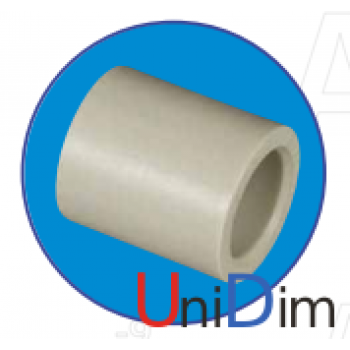 Муфта полипропиленовая соединительная ASG-plast d 20 мм
