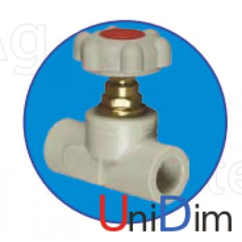 Клапан прямоточный ASG-plast d32 мм