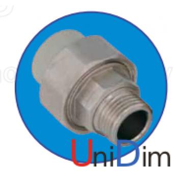 Резьбовое соединение наружное 1/2 ASG-plast d20 мм