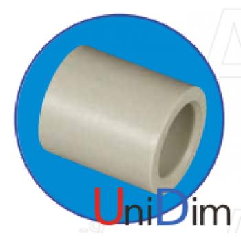 Муфта полипропиленовая соединительная ASG-plast d 40 мм