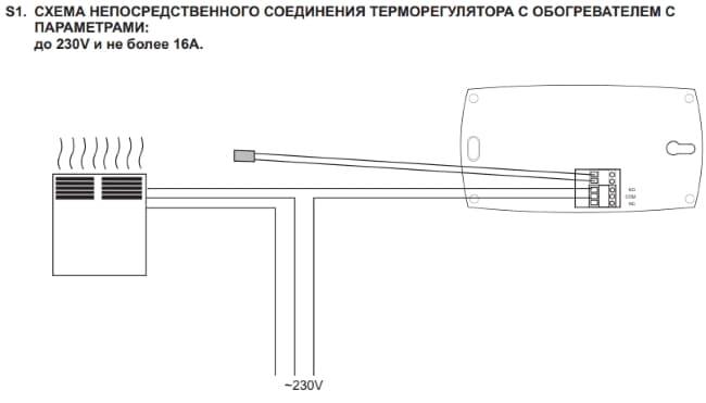 Терморегулятор AURATON 2016