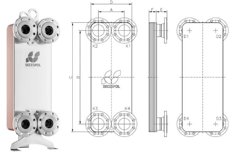 коаксиальный теплообменник контура отопления и гвс